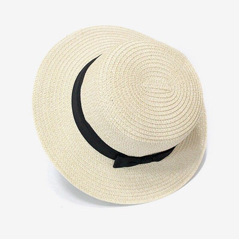 450fd17cf93c9 Summer Style Child Sun hat Beach Sunhat Fedora hat Trilby Straw Hat boy  girl Gangster Cap Fit For Kids Children Women Men-in Sun Hats from Apparel  ...