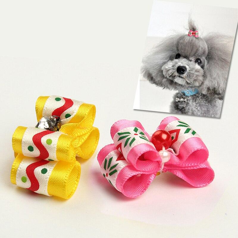 Nueva llegada perrito de moda bowknot horquilla accesorios mascotas cachorro per