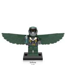Single Sale XH676 Vulture DIY Blocks Supervillains Super Heroes Spider Man Series Building Blocks Baby Toys