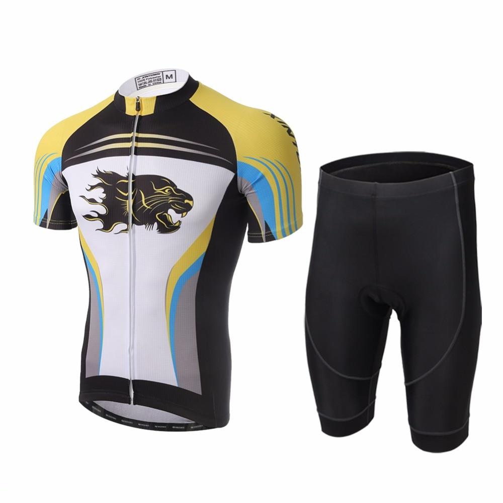 Amur Leopard Cycling Jerseys with Shorts MTB Bicycle Kits Mountain Bike Clothes Short Sleeve мыльница milardo amur amusmg0m42