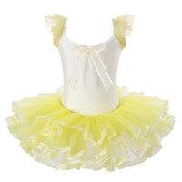 Hot Selling Girls Leotard Ballet Tutu Skirt Dress Ballet Dance Party Costume Tutu Dress Tutus