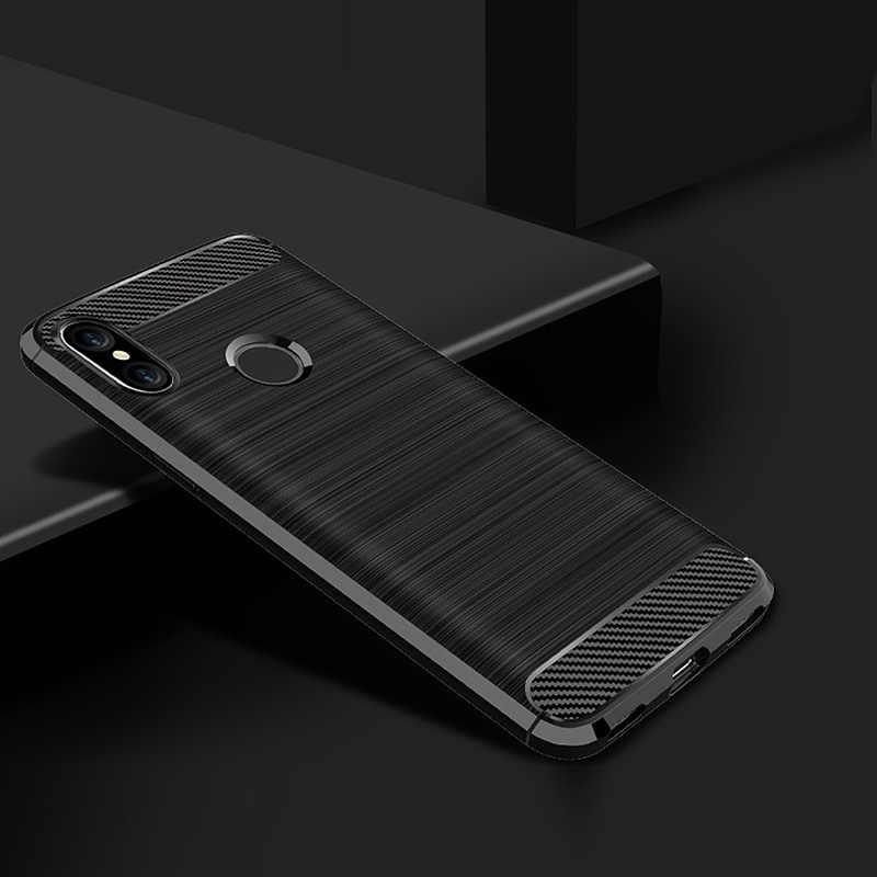 Điện thoại Trường Hợp đối với xiaomi redmi note 5 6 pro trường hợp Cover Quay Lại TPU Silicone cho xiaomi mi 8 a2 lite mi x 3 max 3 pocophone f1 trường hợp