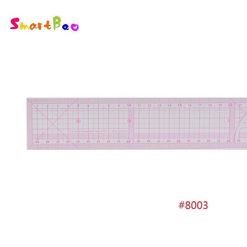 50cm Garment Ruler Patchwork Ruler 2Pcs/Lot  #8003