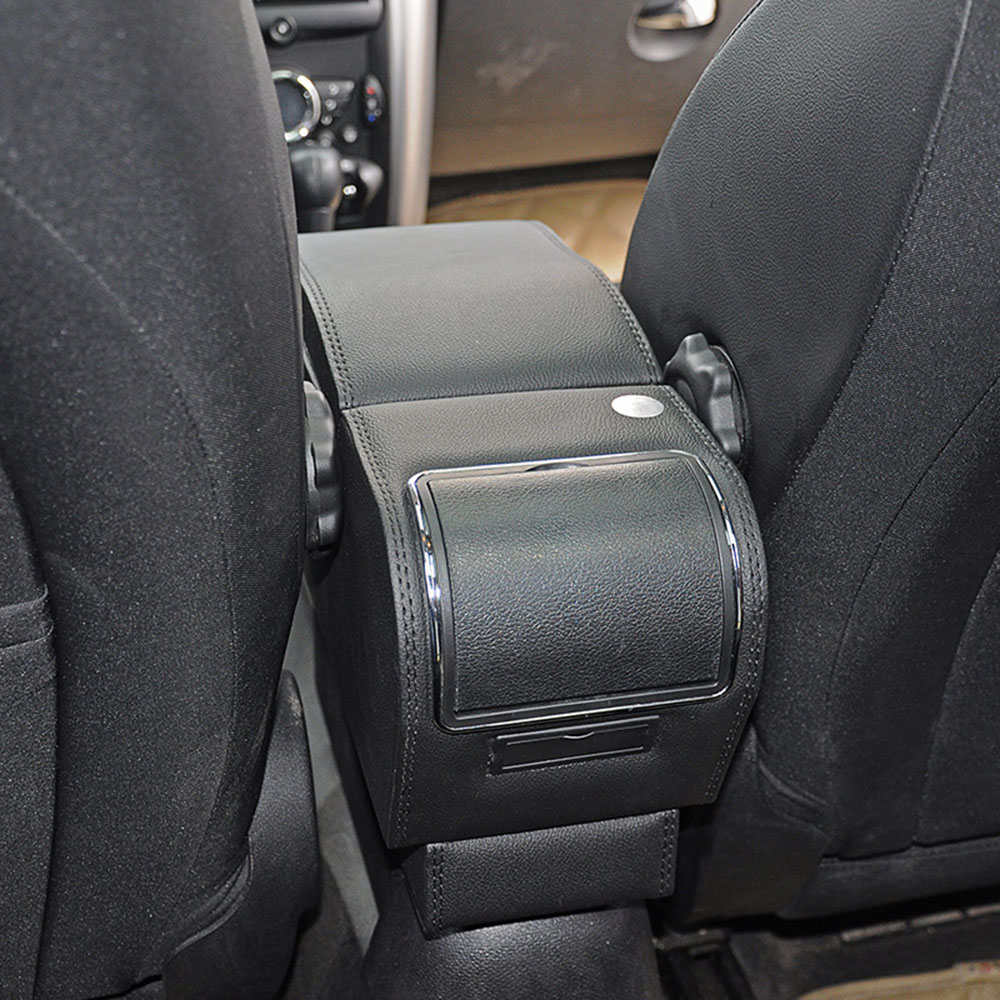 Pu Leather Car Armrests Box Container Central Store Content Box For