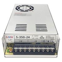 S 350 24 Switching Power Supply 350W 24V14.6A AC/DC Transformer Driver Indoor for CNC Machine DIY, LED , Etc.. 24 volt power
