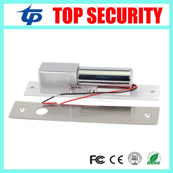 Low temperature bolt lock for access control system electric lock DC 12V Stainless Steel Fail-Safe 2-Lines Drop Bolt Lock dc 12v fail safe electric drop bolt lock for door access control low tempreture 5 lines external installation electric bolt lock
