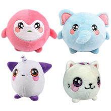 Funny Sweetie Animals Plush Squishy Slow Rising Foamed Stuffed Animal Toys Unicorn Cat Toy Squishies Stress Relief 10cm(China)