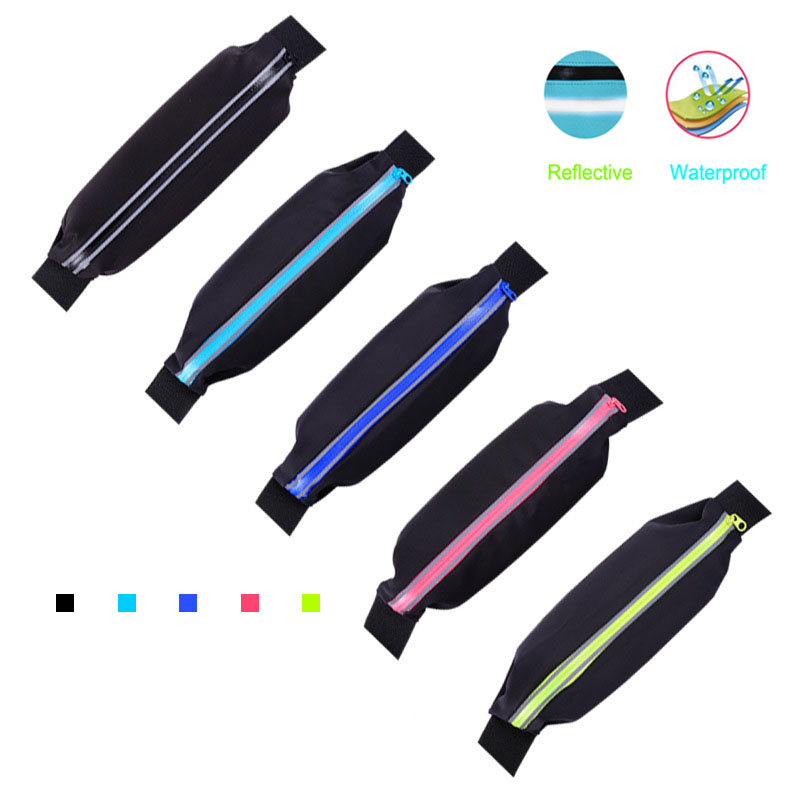 Running Bag Waist Belt Pocket Sports Bag Waist Pouch Fanny Pack For Men Women Training Racing Jogging Hiking Cycling Belts Bags