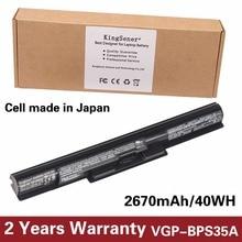 KingSener Japonais Cellulaire VGP-BPS35A Batterie Pour SONY Vaio Fit 14E Série 15E BPS35A SVF1521A2E SVF15217SC SVF14215SC SVF15218SC