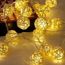Ball String Light Christmas Decorations for Home Ornaments Lights Tree Accessories Outdoor
