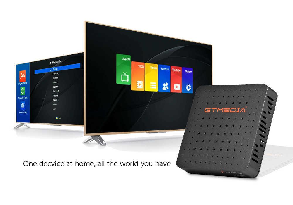 Brazilië Gtmedia Ifire Iptv Box Digitale Set Top Box Tv Decoder Full Hd 1080P (H.265) ingebouwde Wifi Module Iptv Box Ondersteuning M3U