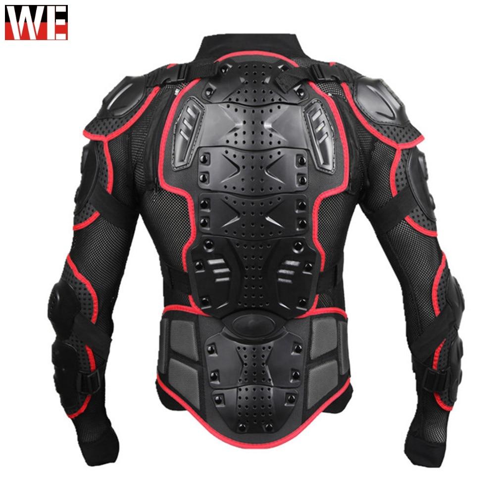 Wosawe professionnel moto protecteur d'armure de corps Motocross soutien du dos hommes colonne vertébrale poitrine bouclier de protection veste Gear