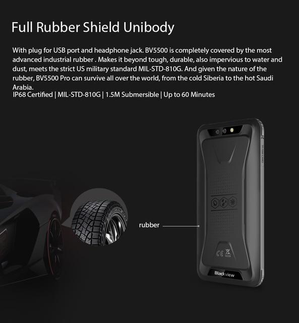 Blackview bv5500 pro waterproof 5.5″ screen