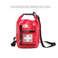 Новый 5L большой водонепроницаемый аптечка сумка Портативные аварийные комплекты чехол только для кемпинга путешествия аварийное медицинс...