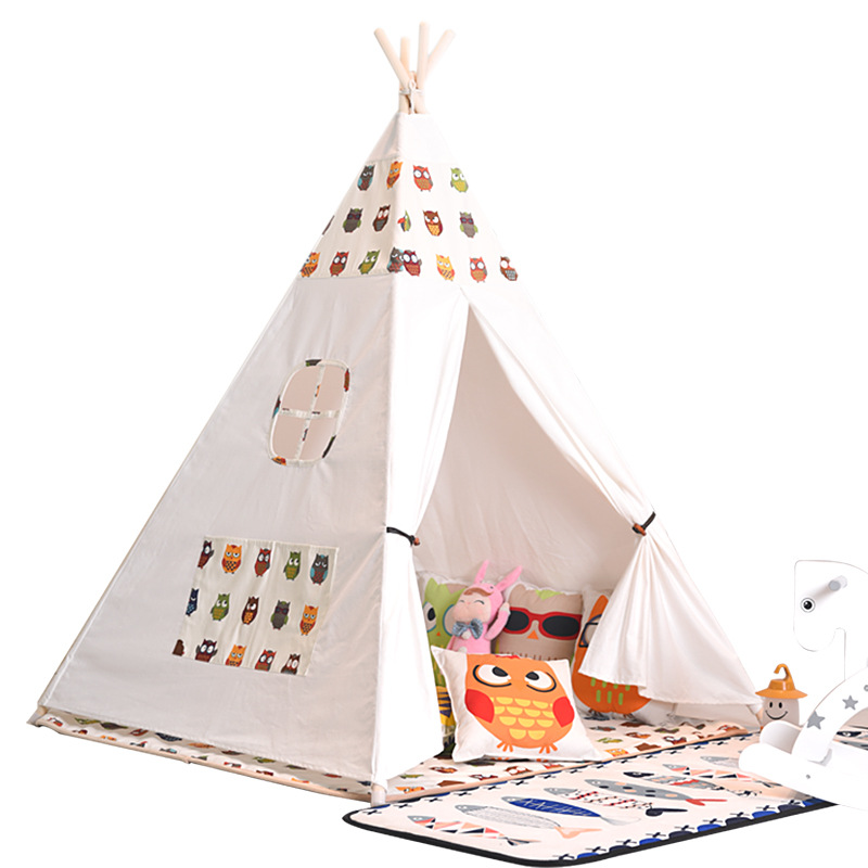 Indoor Climbing Children's Tent, Baby Game House, Baby Toy, Indian Tent, Princess Tent Triangle Playhouse for Kids Gift 2019