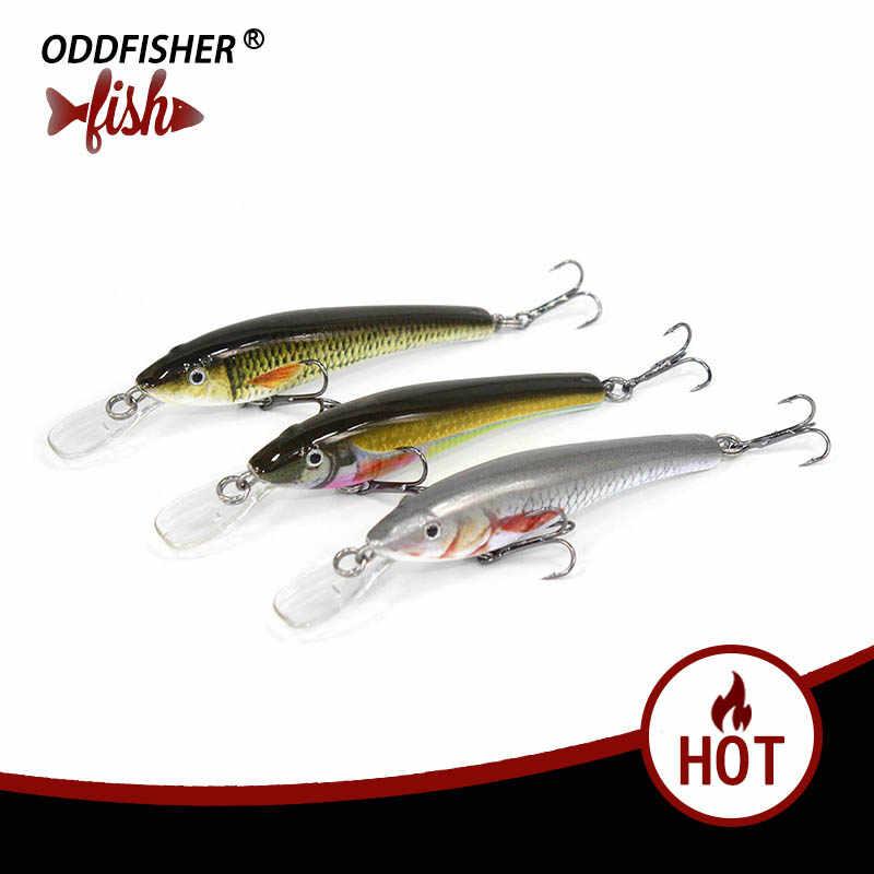 1 قطعة 6 سنتيمتر 3.2g أسماك الصيد السحر الطعم الثابت 3D عيون Wobblers الصيد إغراء العائمة اكسسوارات بطيئة غرق توبواتر إيسكا