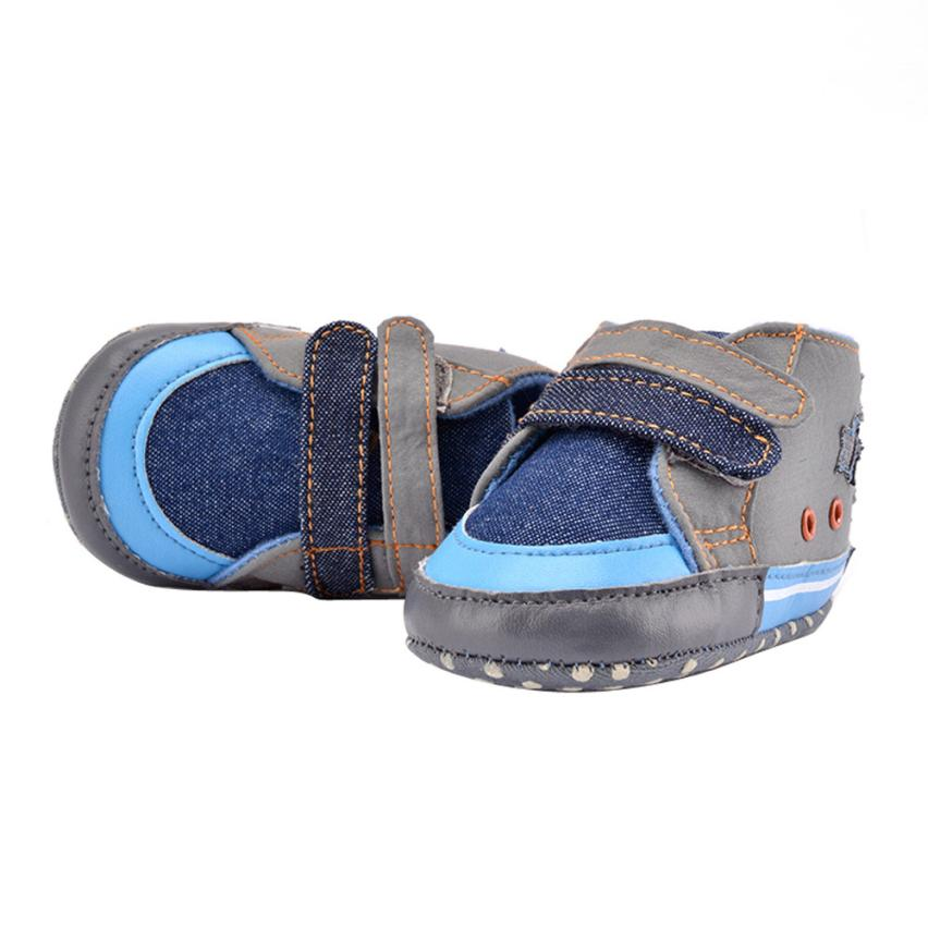 Fashion baby shoes boys Cowboy Star kids canvas shoes baby boy soft shoes newborn shoe size sapatos infantil