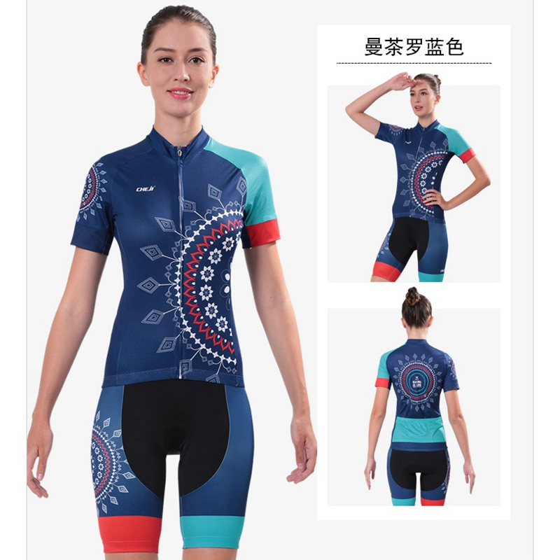 Women Cycling Jersey Ropa Ciclismo Bicycle Bike Shirt Outdoor Sports Ropa De Camisa Ciclismo Short Sleeve Bike Clothing
