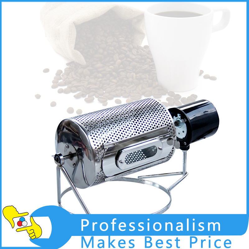 220V/110V Electric Stainless Steel Coffee Beans Roaster Machine Baking Tool