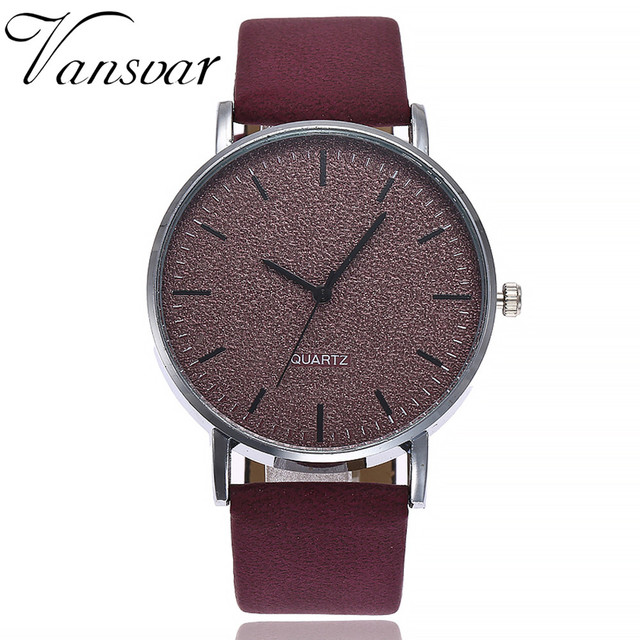 women's watches brand luxury fashion ladies watch women leather 7 colors Grind C