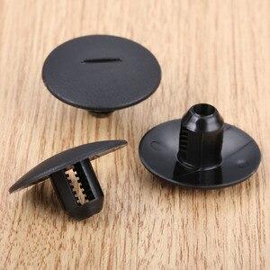Image 4 - 10 個自動ファスナーストライプカーペットストラップクリップ clamp フィットプジョー 408 307 206 シトロエン C5 C2 プラスチックファスナー