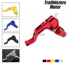 For 22mm 7/8″ handlebar  Motorcycle CNC T6061 Aluminum Stunt Clutch Lever Assembly #5