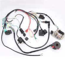 Full Electrical Wiring Harness Kit Fit