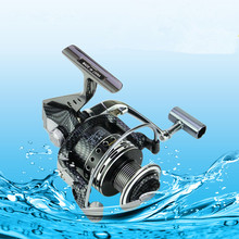 Spinning Fishing Reel 12+1 Ball Bearing 1000-9000 Series Metal Coil Spinning Reel Gear Ratio 5.5:1 Boat Rock Fishing Wheel sougayilang feeder spinning fishing reel china left right reel fishing gear coil 12 1 ball bearing metal sea fishing reel peche