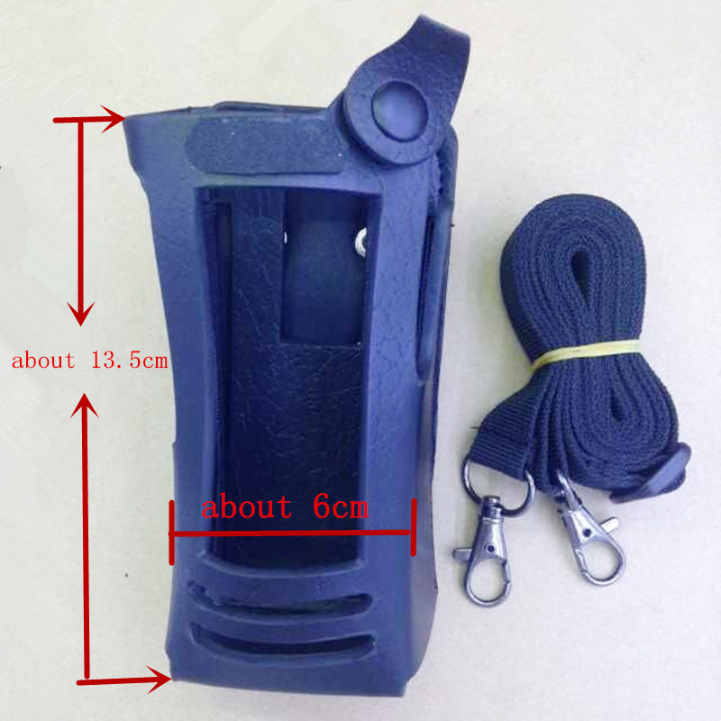 honghuismart Hard Leather Holster Case for motorola XIR P8268 XIR P8260 etc Digital  walkie talkie