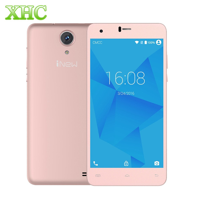 iNew U8W 8GB WCDMA 3G 5.5'' Mobile Phone 2.5D Android 5.1 MTK6580 Quad Core 1.3GHz RAM 1GB GPS 2500mAh Battery Cell Phone