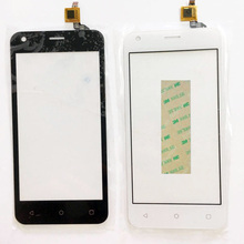 """New 4.5 """" Touch Screen For Fly FS454 nimbus 8 FS 454 Touch Screen Digitizer Front Glass Lens Panel Sensor Replacement 3m Sticker"""