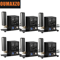 6pcs/lot LCD Digital Display Stage CO2 Cannon Fog DMX Control Single Pipe 6 8M Up CO2 Jet Cryo Machine Cryogenic Special Effect