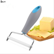BXLYY New Plastic Handle Cheese Slicer Stainless Steel Line Butter Cheese Cheese Butter Scraper Baking Utensil Kitchen Gadget.7z camvate top cheese handle thread screwed handle