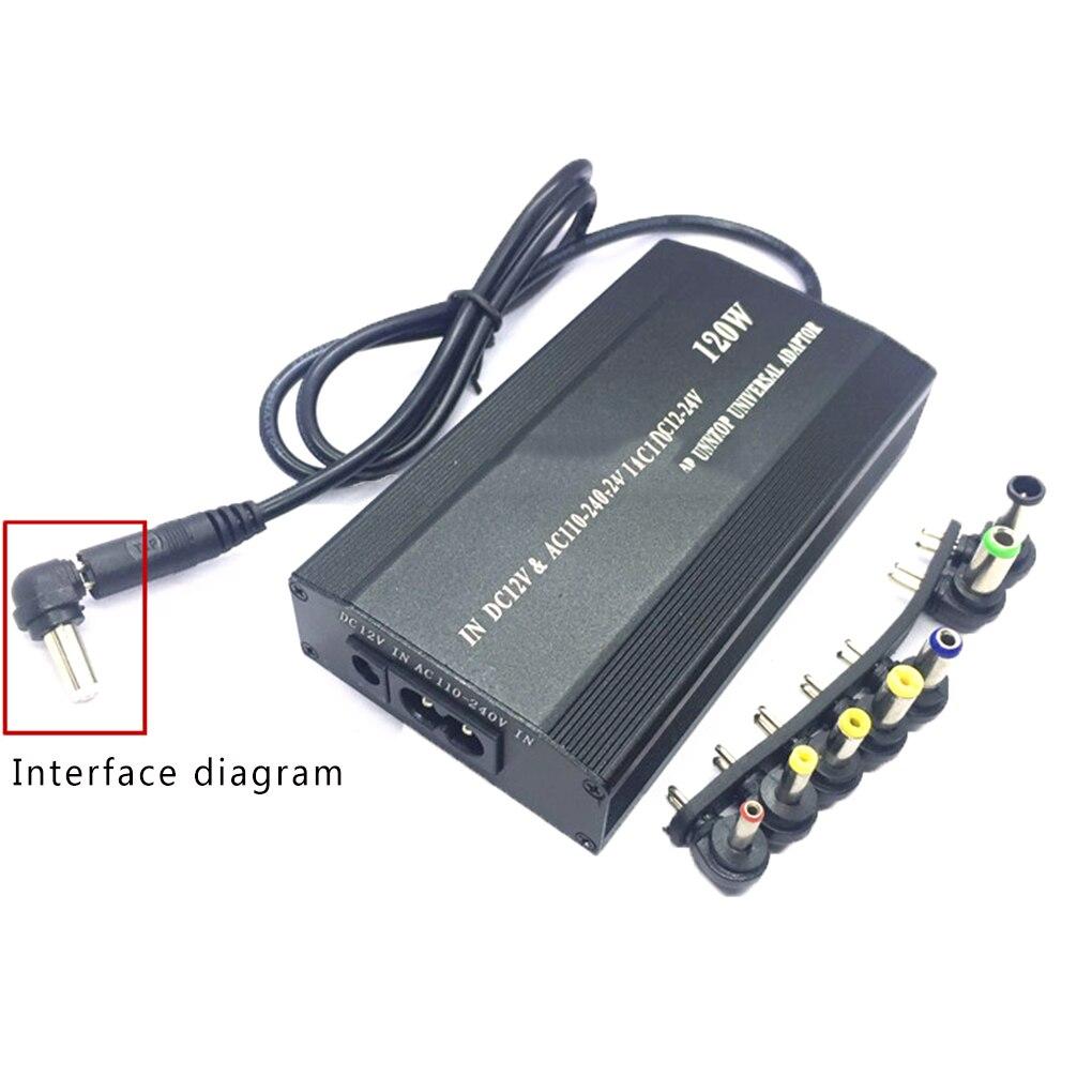 Замена для lenovo Универсальный 120 Вт ноутбук адаптер питания постоянного тока зарядное устройство ноутбук адаптер переменного тока