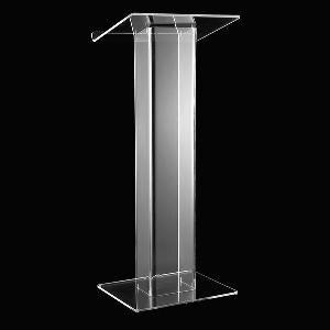 Restaurant Bank Reception Desk Countertop Furniture Hotel Welcome A Podium Crystal Speaker's Podium Reception Meeting Lectern