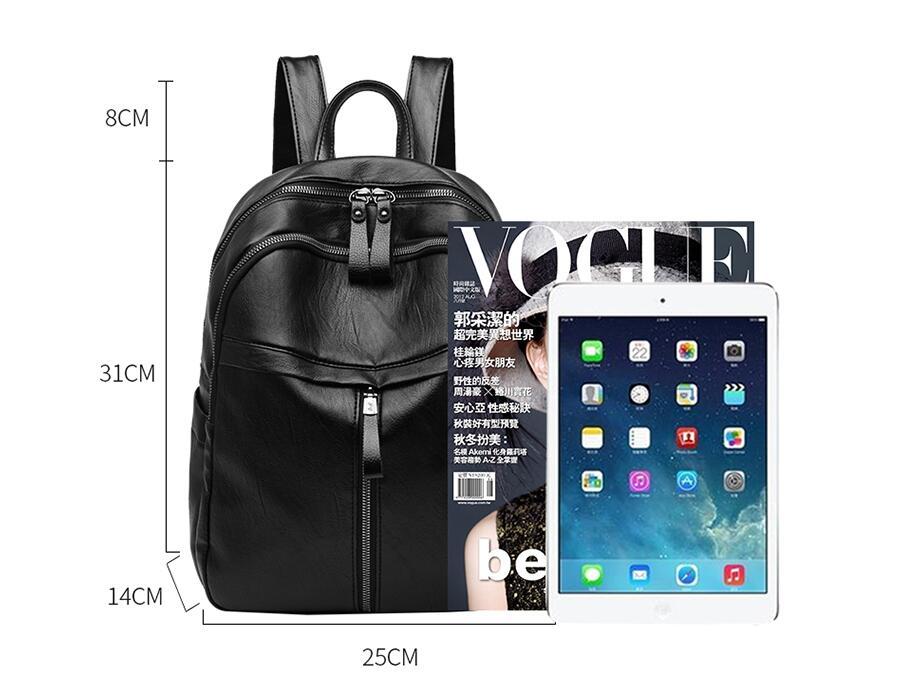 HTB1Ha8bOcfpK1RjSZFOq6y6nFXaa On sale New 2019 Women ladies PU Leather small Backpacks for Teenage Girls Female School Shoulder Bag bag pack mochila