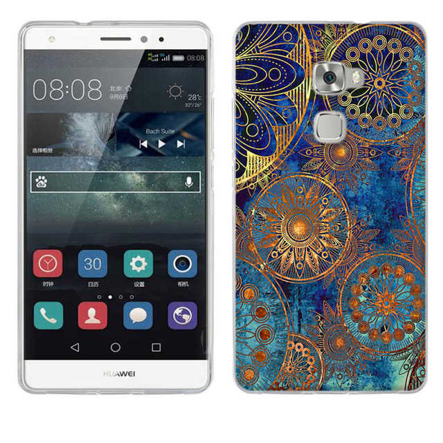 Fashion Cartoon Back Case for Pouch Huawei Mate S Case Soft Silicon Cover For MATE S Case Luxury TPU Huawei Mate S Cover Capinha