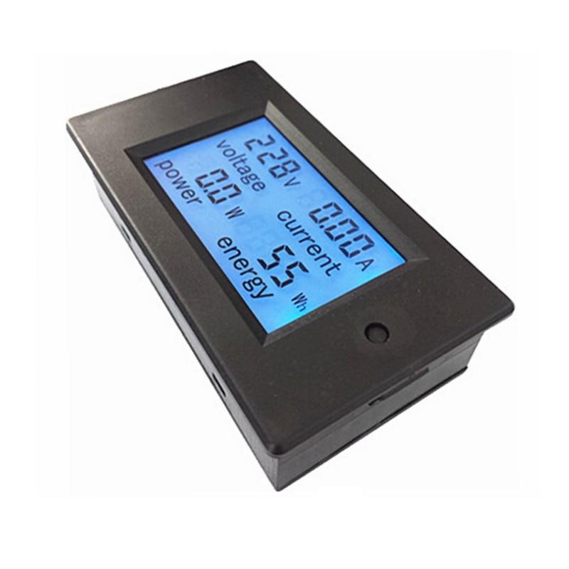 Neue LCD AC 80-260 V/20A Voltmeter Amperemeter Volt Power Energy ...