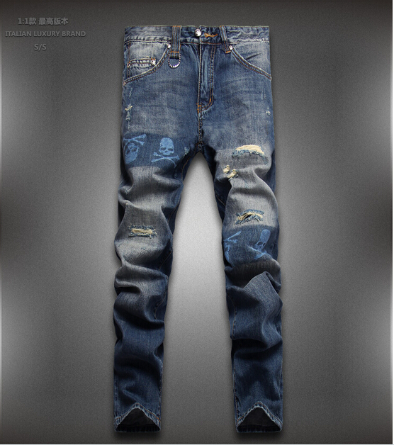 Free shipping 2015 spring jeans men famous brand men jeans leisure 28 36