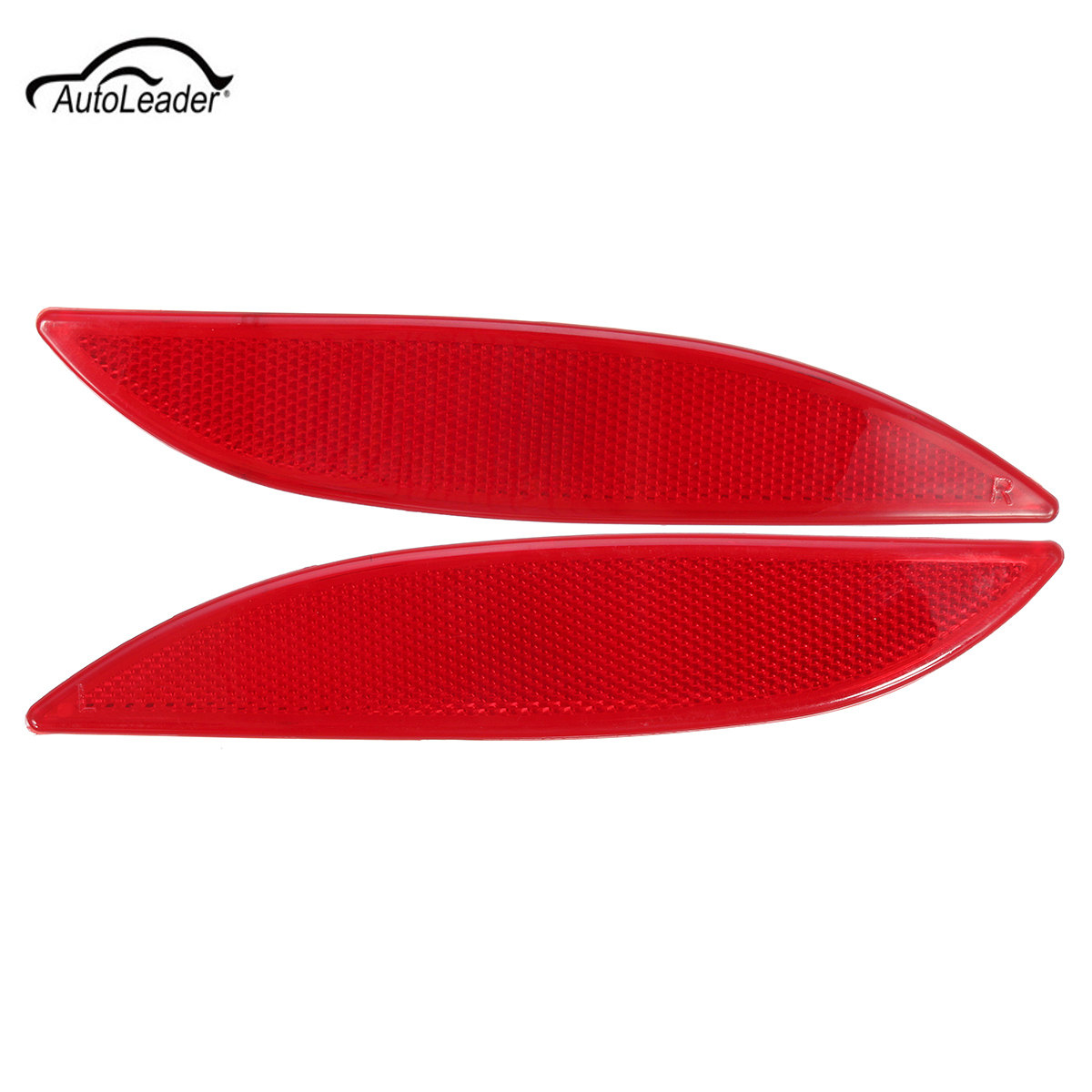 1Pcs Left / Right  Car Rear Bumper Reflector Light Red Lens Car Tail Side Light  For Renault Megane MK3