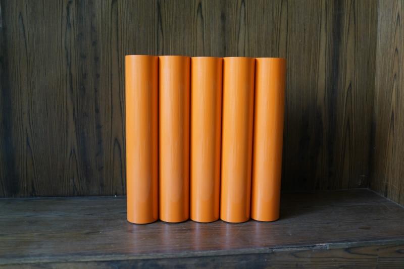 Aletler'ten Alet Parçaları'de DIY yapıştırıcı Craft vinil levha kesme orange renk yazı Film oymacılık çıkartması Monofilament Polyester sayısı baskı kumaş