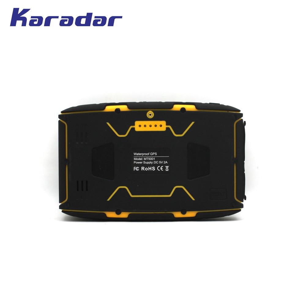 KARADAR 5 ინჩიანი წყალგაუმტარი - მანქანის ელექტრონიკა - ფოტო 5