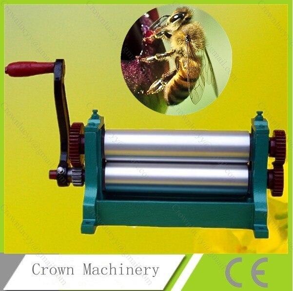 75 310mm Manual Beeswax Flat Sheet Press Roller Mill