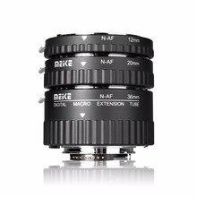 Meike MK N AF1 Al מתאם פוקוס האוטומטי הרחבה טבעת AF עבור NikonD3000 D3100 D3200 D3400 D5000 D5100 D5200 D5300 D7000 D7200
