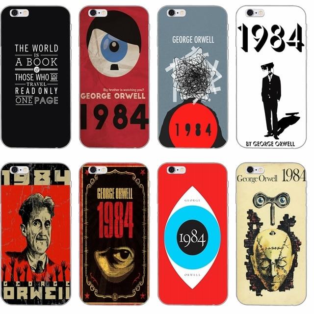 1984 George Orwell Book Flexible Slim Soft Phone Case For Xiaomi Mi