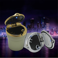 Car Styling Car Cigarette Ashtray With LED Lamp For Chery Tiggo Fulwin A1 A3 QQ E3
