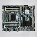Оригинал Для HP Z420 Workstation Материнская Плата DDR3 с ECC C602 LGA2011 619557-001 618263-001 100% тест все функции бесплатная доставка