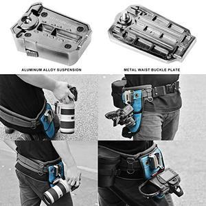 Image 4 - NiYi UK A8S Kamera Gürtel Clip Holster DSLR Kamera Taille Gürtel Schnalle Taste für DSLR kameras Canon Nikon Sony oder Zubehör