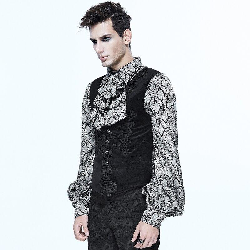sin cintura Abrigos bordado Fashion Gothic lujo negro Devil mangas faOSqx