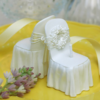 3D Wedding Chair Candle Clay Soap Molds Fondant Art And Craft Gift Wedding Cake Topper Decoration